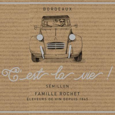 C'est la Vie ! AOP Bordeaux Blanc