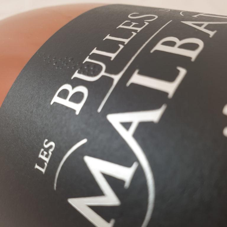 Pétillant Les Bulles Rosé de Malbat